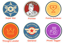 View badges that are available on this site and learn how to unlock them all.