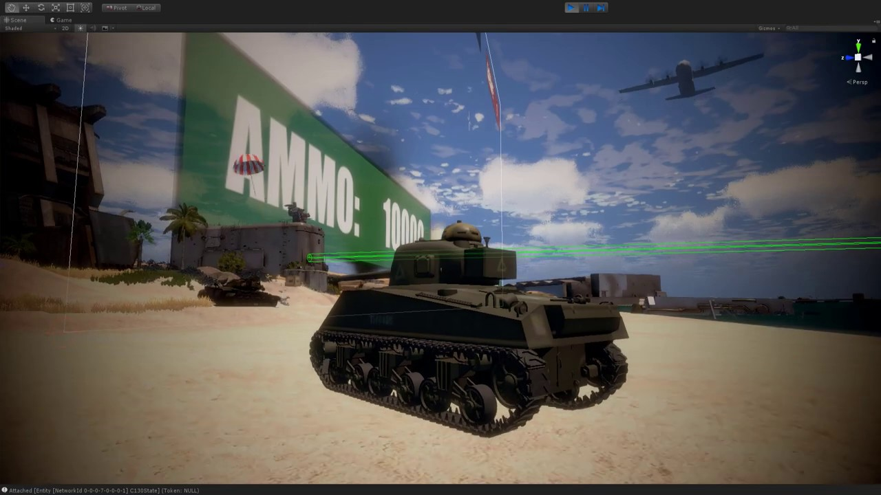 BeachHead Tank physics pepe