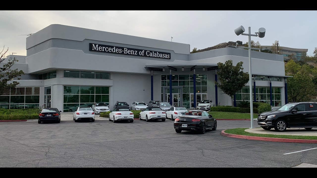 Mercedes Benz Calabasas: Test Visualization